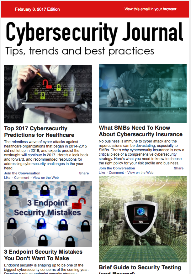 Cybersecurity Journal Reaches IT Executives and the C-Suite